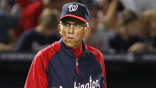 Johnson to manage Nationals next season