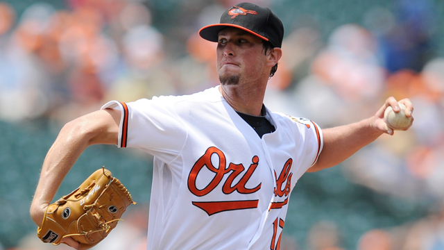 Matusz eyes return to O's after shutout win