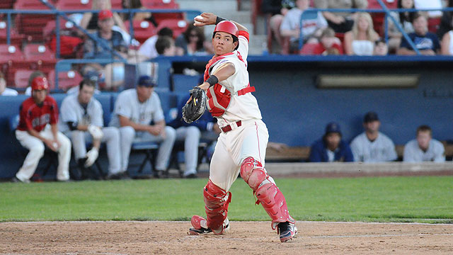 Newberg Report: Alfaro poised behind plate