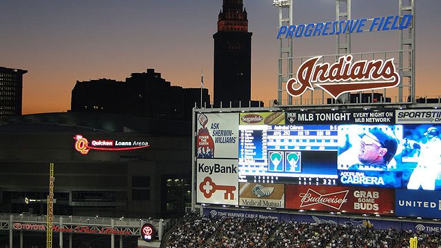 Indians' 2012 slate opens vs. Blue Jays
