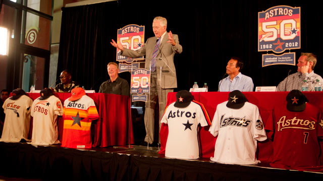 Astros unveil plans for 50th anniversary season