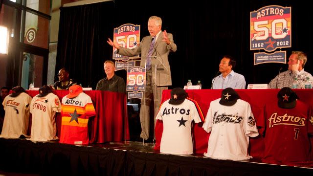 Astros unveil plans for 50th anniversary season