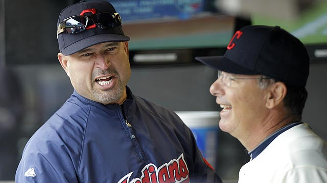 Tolman ends tenure as Indians bench coach
