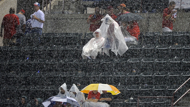 Postseason no stranger to inclement weather