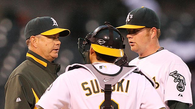 Young returns to A's to be pitching coach again