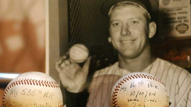 On 80th birthday, Mantle still HR king