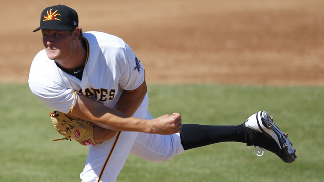 Cole fires 3 2/3 hitless frames in Mesa's win
