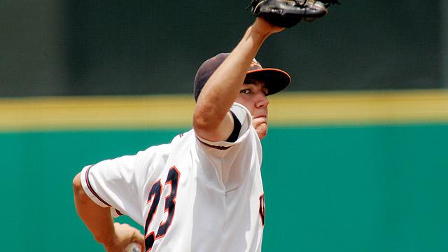 Hultzen hurls four scoreless frames in AFL