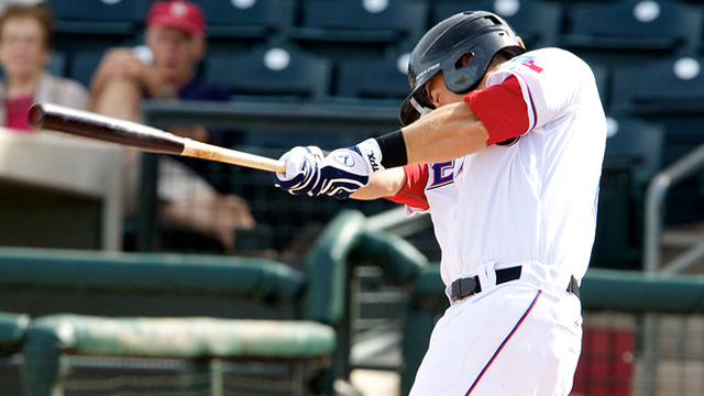 Sags' Olt homers again, drives in six runs