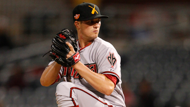 D-backs' Brewer strong for four frames in AFL