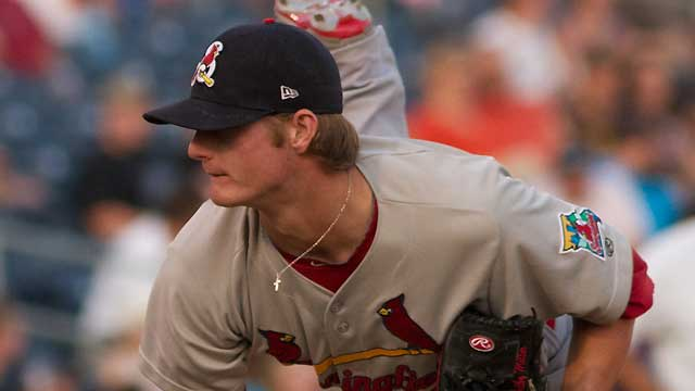 Cards prospect Miller aced tests through 2011