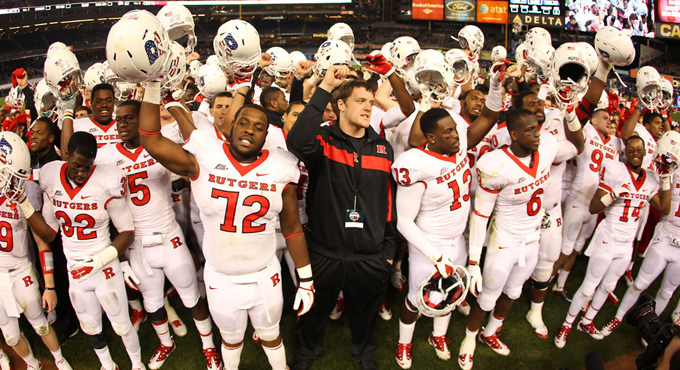 Rutgers wins Yankee Stadium clash with Army