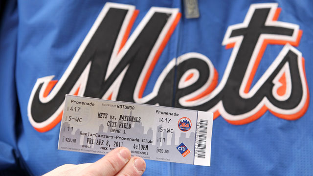 Mets announce series of 2012 ticket plans