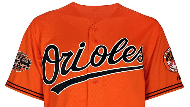 Cartoon bird returns as O's unveil new uniforms