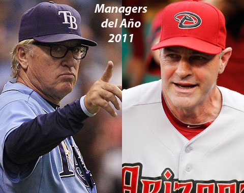 Gibson y Maddon, Managers del Año