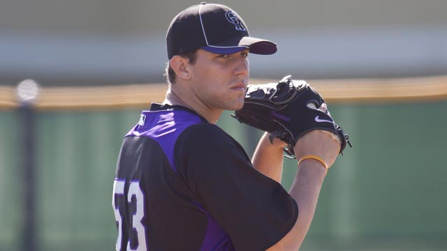 Rockies add two left-handed pitchers to roster