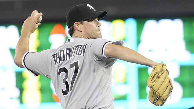 Thornton unsure if he'll be on White Sox in '12