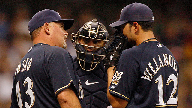 Bosio says he is new pitching coach for Cubs