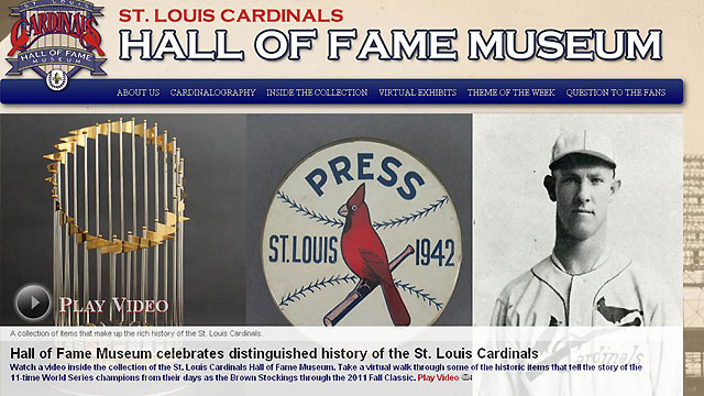Cards launch online museum and hall of fame