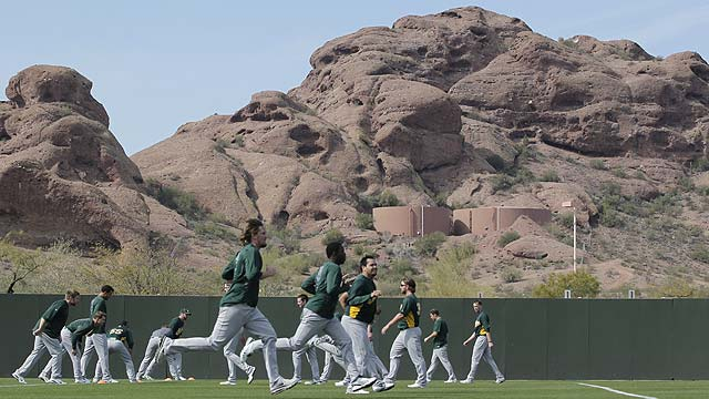 Everything is near and dear in Cactus League