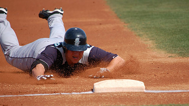 Seager doing everything to earn a roster spot
