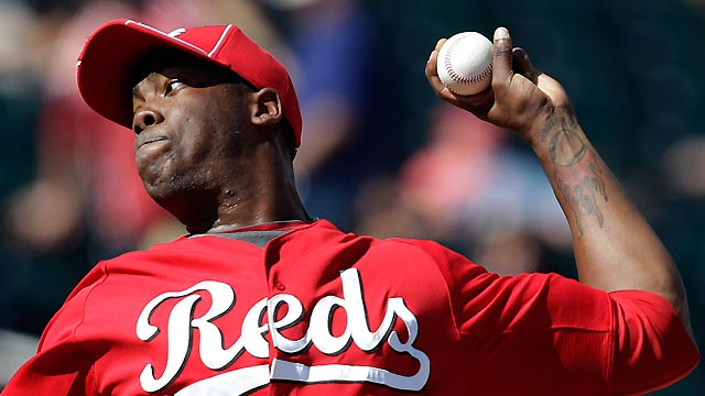 Chapman fans three as Reds clip Indians