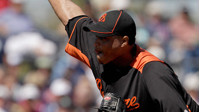 Simon, O's relievers stifle Rays' bats