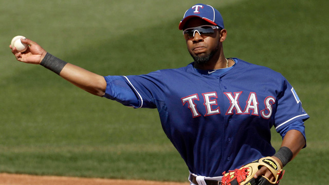Andrus helps set early tone against Royals