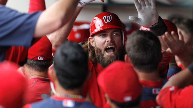 Homers back solid Gio as Nats top Braves