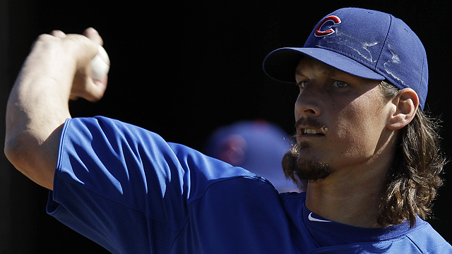 Samardzija sharp in spring debut as Cubs win