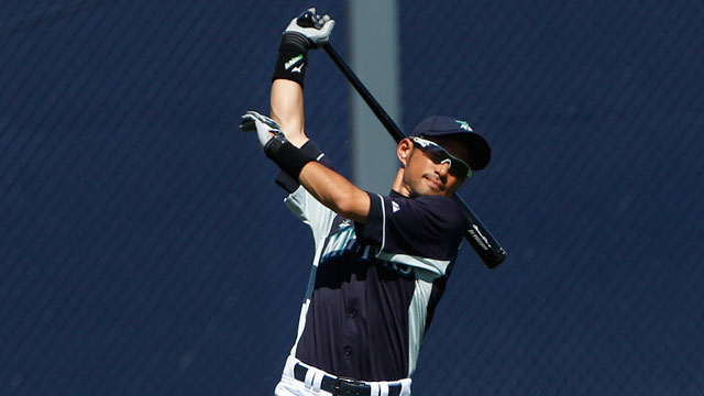 Ichiro continues impressive spring in nightcap