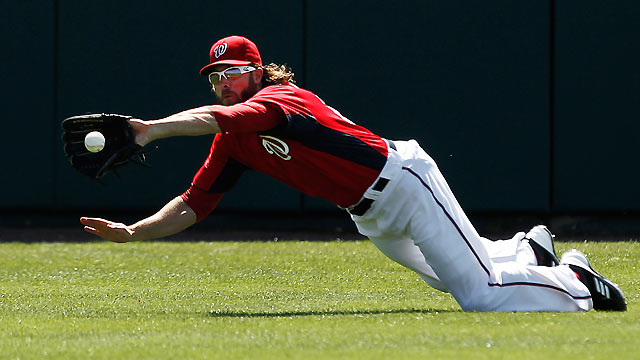 Werth gets into swing of things in loss to Tigers