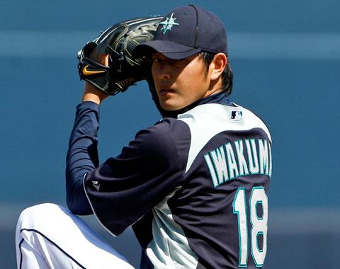 Iwakuma comenzará la campaña en el bullpen