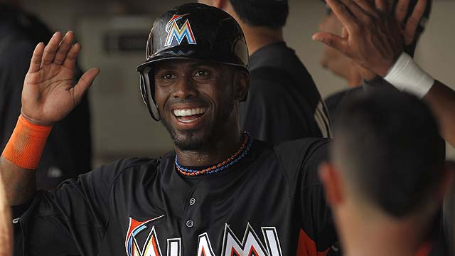 Reyes, Tiffee provide spark for Marlins in tie