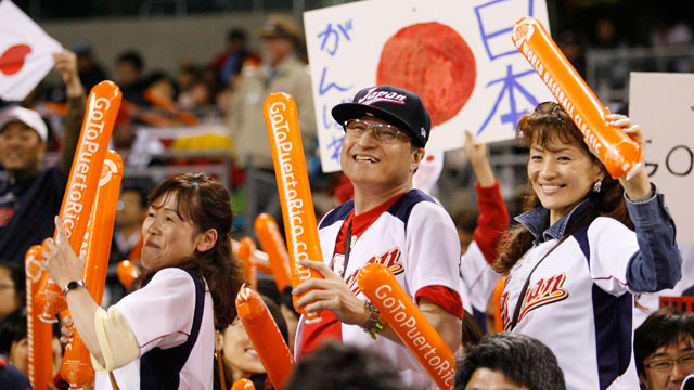 An ocean away, Japan follows hardball heroes