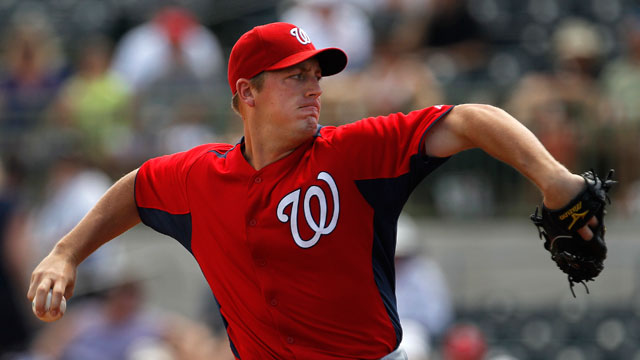 Michaels blasts homer in Nats' loss to Astros