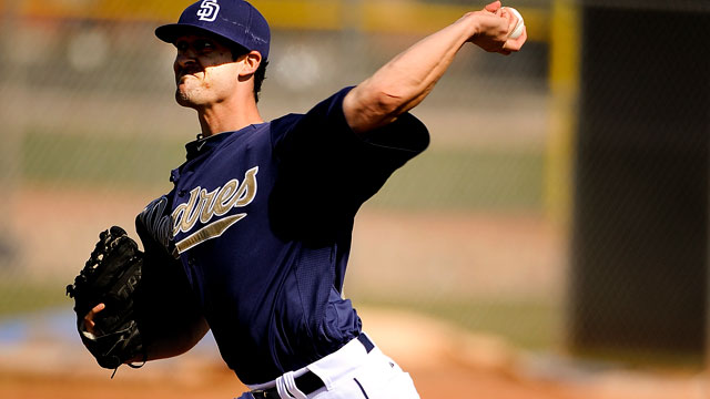 Hinshaw forcing Padres to make tough call