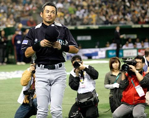 Ichiro es ovacionado en derrota de Seattle