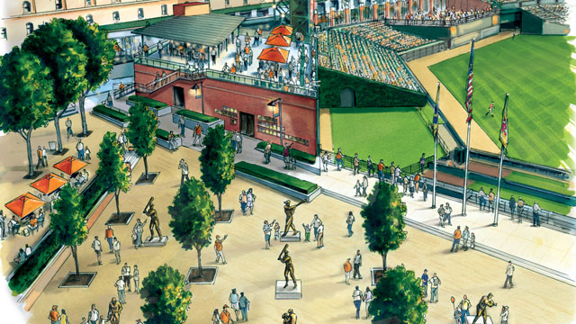 Orioles unveil Camden Yards improvements