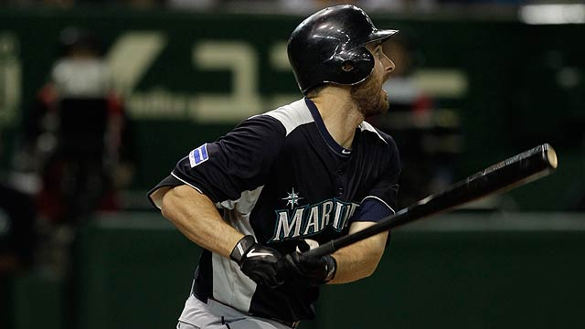 Ackley gears up for season with homer, triple