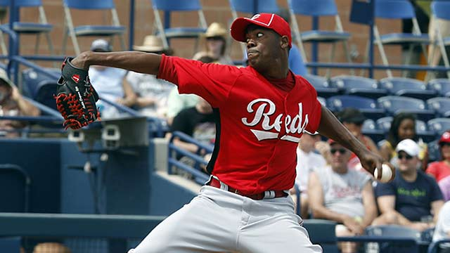 Chapman settling into big league groove