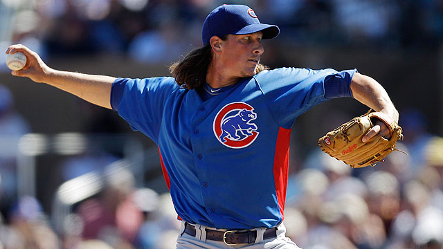 Samardzija named No. 3 starter in rotation
