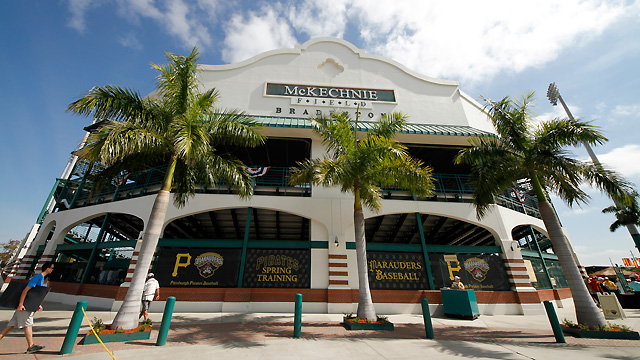 Pirates' McKechnie Field gets special visitor