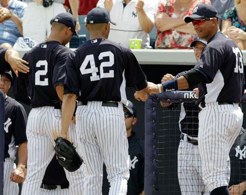 Veteranos de Yankees buscan otro anillo