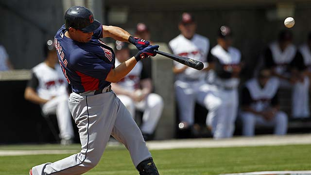 Homers back Lowe as Tribe thumps Mudcats