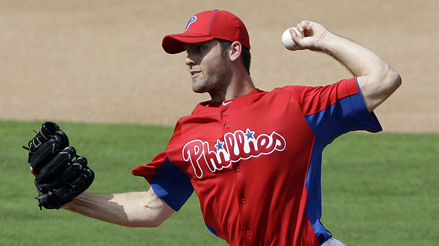 'Grateful' Savery to open year in Phils' bullpen