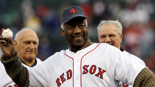 Green first to break color barrier with Sox