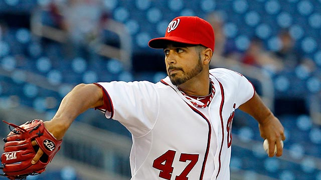 Nats-Fish rained out; Gio to pitch in San Diego