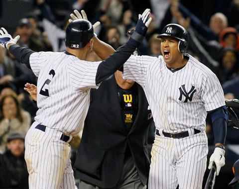 Yankees vencen a Tigres con un wild pitch