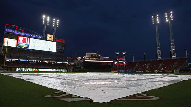 Reds' opener vs. Cubs postponed by rain